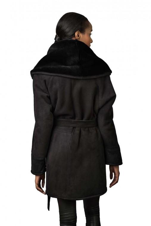 Oversized Hood Shearling