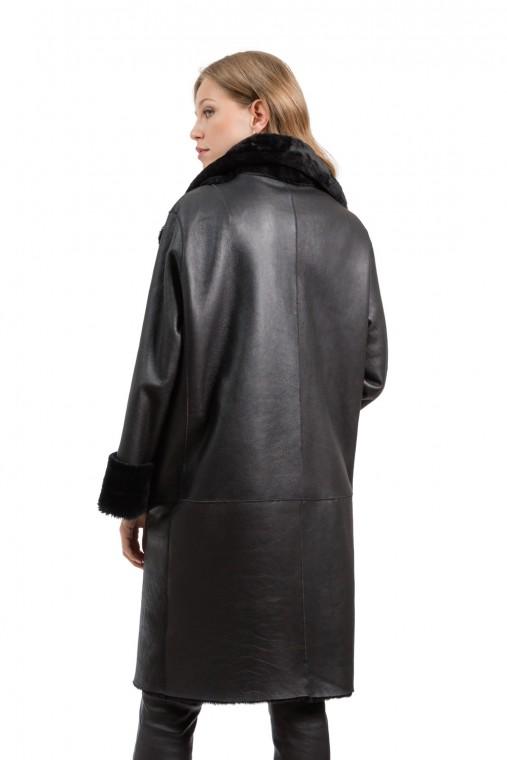Oversized Reversible Sheepskin Coat